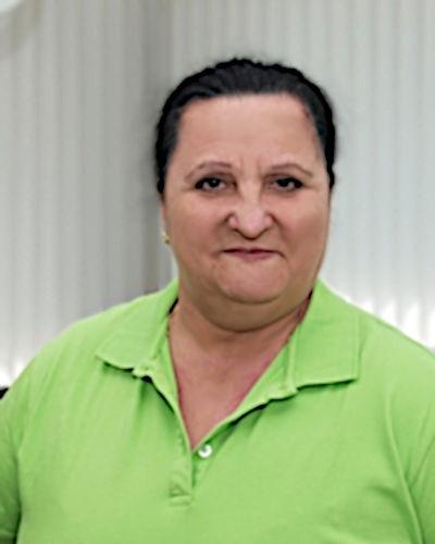 Antoniette Orabona, Raumpflegerin der Zahnarztpraxis in Bad Friedrichshall