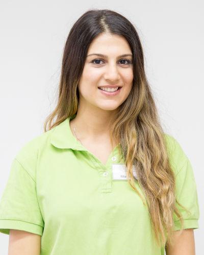 Kerecin Filiz, zahnmedizinische Fachangestellte der Zahnarztpraxis in Bad Friedrichshall