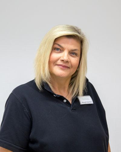 Margit Küstner, zahnmedizinische Verwaltungsassistentin und Praxismanagerin der Zahnarztpraxis in Bad Friedrichshall