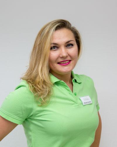 Oksana Lorenz, zahnmedizinische Fachangestellte der Zahnarztpraxis in Bad Friedrichshall