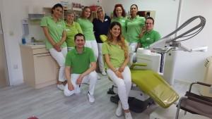 Das Team der Zahnarztpraxis in Bad Friedrichshall